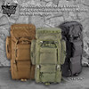 Outdoor Adventurer Rucksack MOLLE Hiking Camping Gear Travel Backpack