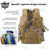 Hydration pouch backpack