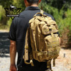 Tactical Backpack Day pack 30L Army MOLLE Water Resistant Hiking Camping
