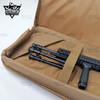Tactical Rifle Long Gun Case Backpack Molle Front Panel 3 Ammunition Pockets