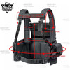 YAKEDA Tactical Rapid Assault Chest Rig Vest
