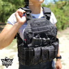 Tactical Molle Airsoft Vest Paintball Combat Soft Vest