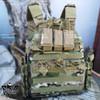 1000D Nylon Tactical Vest Molle Airsoft Vest Paintball Combat Soft Adjustable Vest