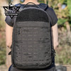 Yakeda Backpack Multi-function Hiking Camping School Travel Tactical Black