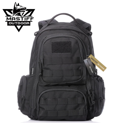 Mastiff Outdoor Tactical EDC Backpack 1000D Nylon MOLLE Military Gear Dayruck