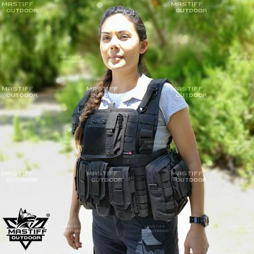 Tactical Rapid Assault Chest Rig Vest