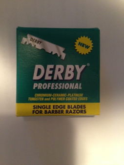 Derby Professional Single Edge Blades (100 Single Edge Razor Blades)