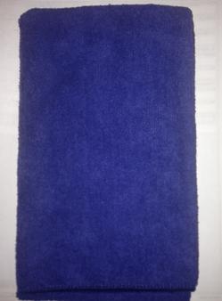 Micro fiber wave towels (exxclusive ) blue