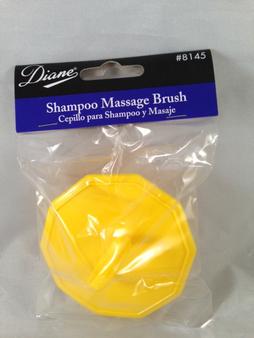 Diane #8145 Shampoo Massage Brush (Yellow)