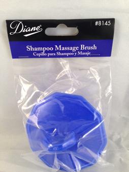 Diane #8145 Shampoo Massage Brush (Pepsi Blue)