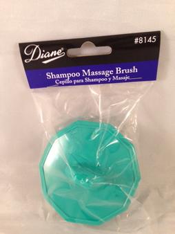 Diane #8145 Shampoo Massage Brush (Aqua Green)