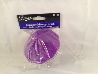 Diane #8145 Shampoo Massage Brush (Purple)