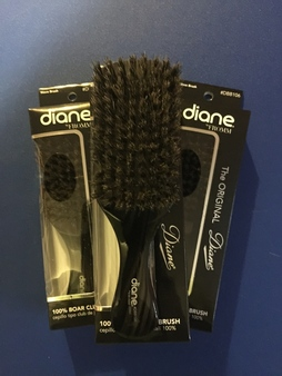 (NEW) The Original Diane # DBB106 Medium Wave Club Brush  (8118 ) Clone