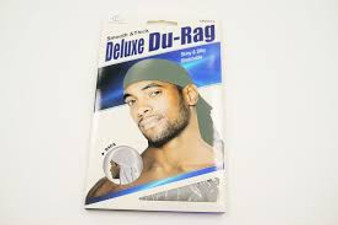 Dream Du-Rag Deluxe Smooth & Thick Silver Glowing