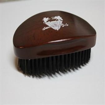360 Wave Brush – Smooth Stylz-Dark Brown