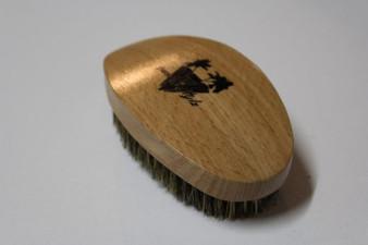 Smooth Stylz 360 Wave Brush Tan/ oak– Soft Bristl