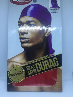 Red by Kiss - Silky Satin Durag  RED