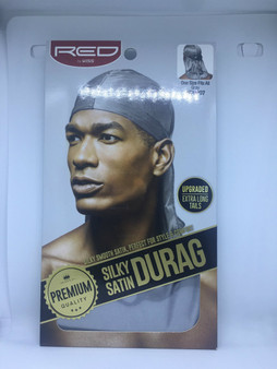 Red by Kiss - Silky Satin Durag  SILVER