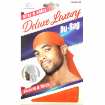 Dream Du-Rag Deluxe Smooth & Thick SUN KISS ORANGE