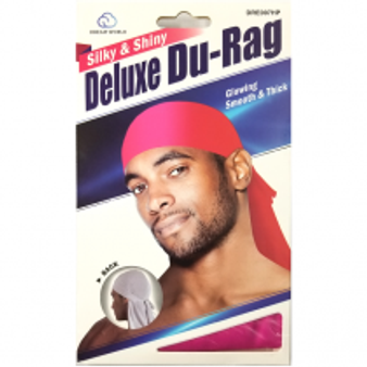 Dream Du-Rag Deluxe Smooth & Thick HOT PINK