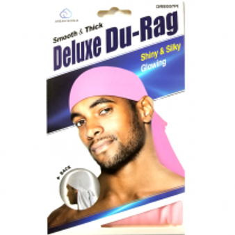 Dream Du-Rag Deluxe Smooth & Thick LIGHT PINK