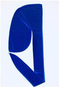 LUXURY VELVET DURAG  - ROYAL BLUE