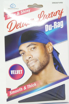 Dream Du-Rag Deluxe Smooth & Thick  - ROYAL BLUE