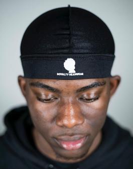 ROYALTY HEADWEAR- BLACK CAP