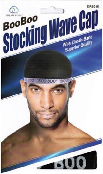 Dream Boo Boo Stocking Wave Cap (BLACK)