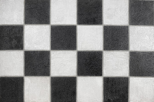 checkered board flat lay background