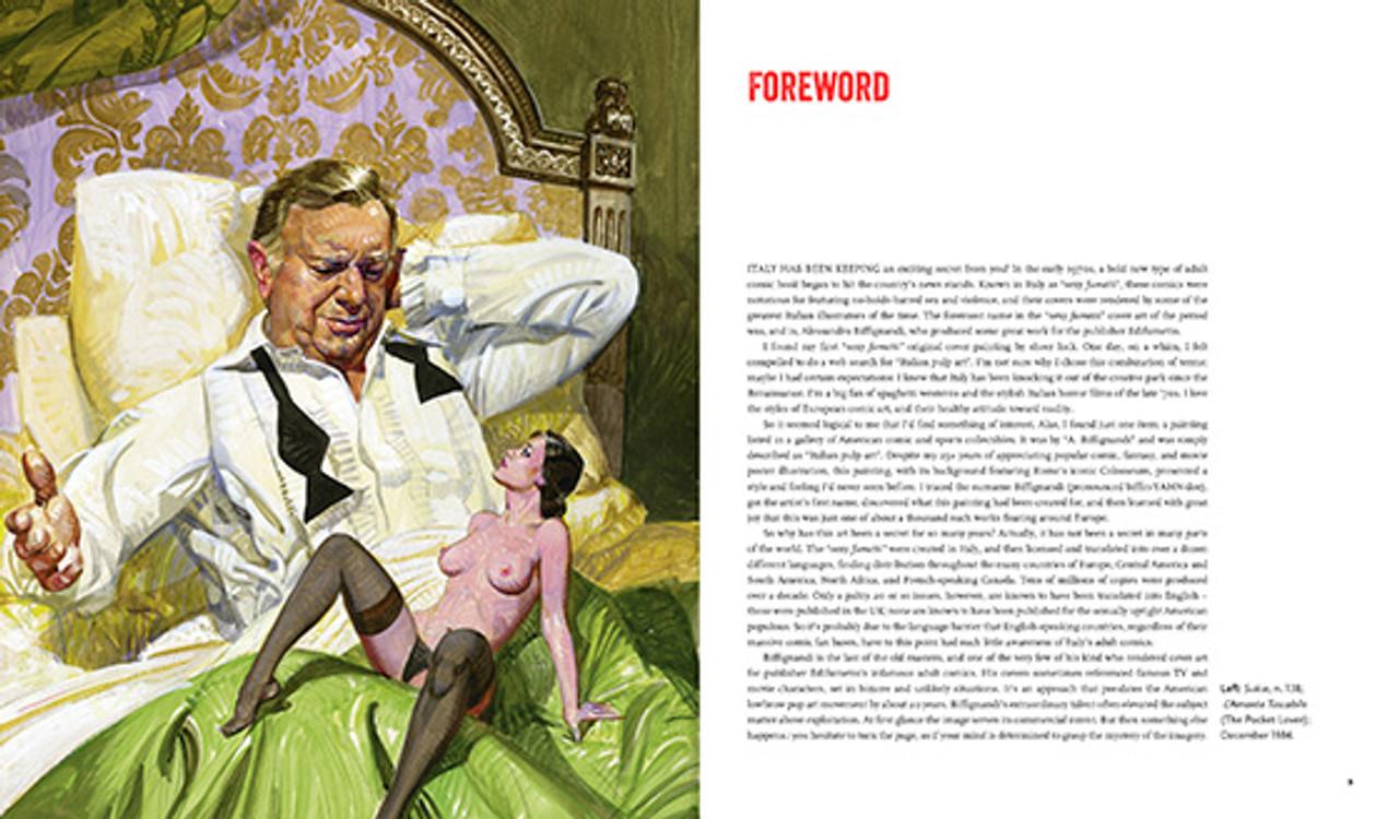 Sex and Horror: The Art of Alessandro Biffignandi - Sunia