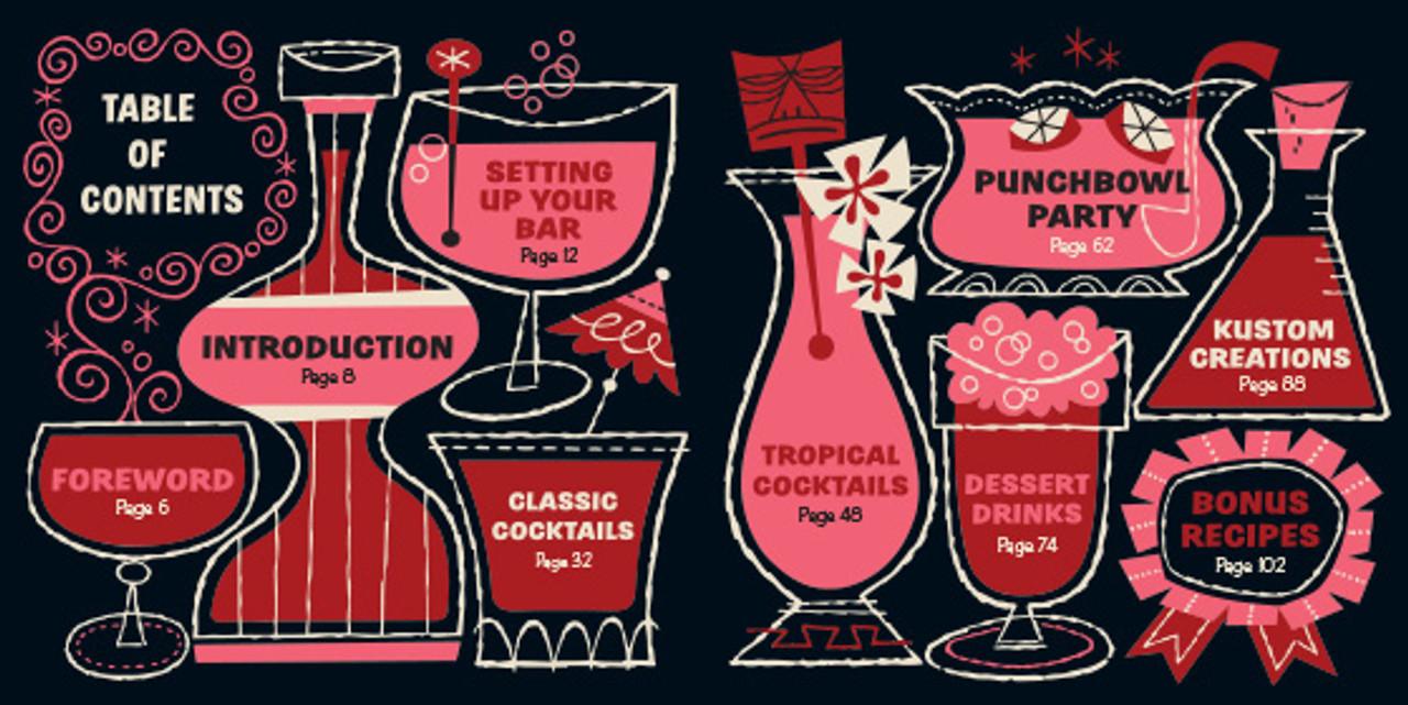 Kiddie Cocktails by Derek Yaniger and Stuart Sandler. Non alcoholic cocktails book. Korero Press.