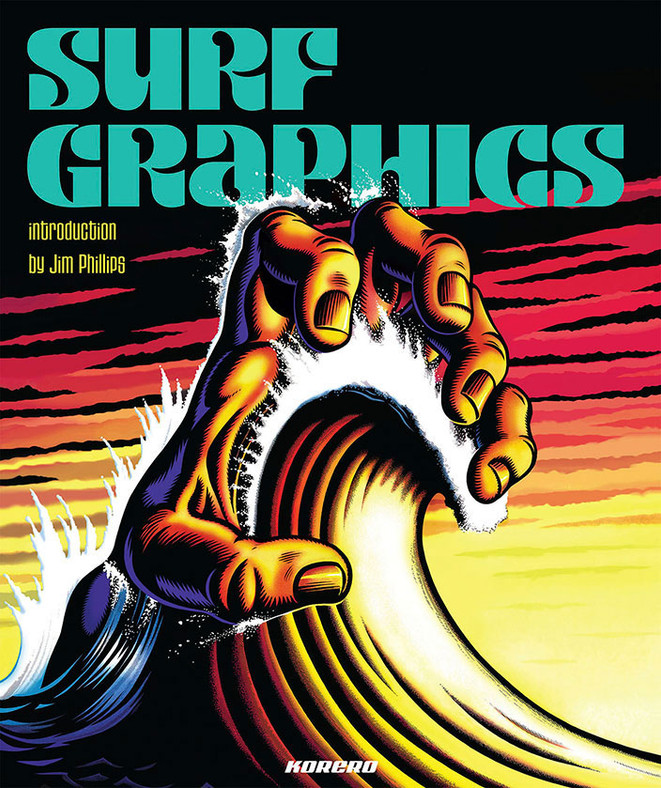 Surf Graphics book. Introduction by Jim Phillips. Published by Korero.