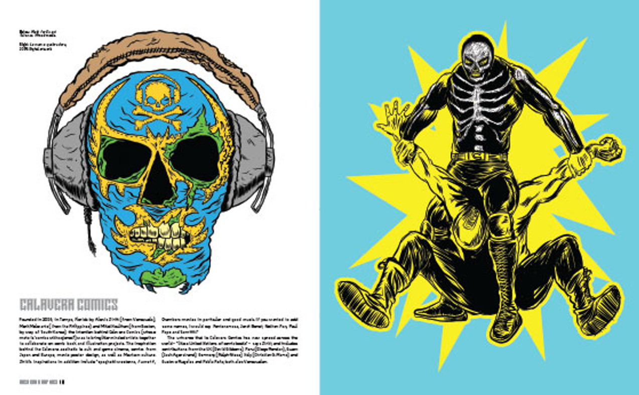 Mexican Graphics book: Calavera Comics.