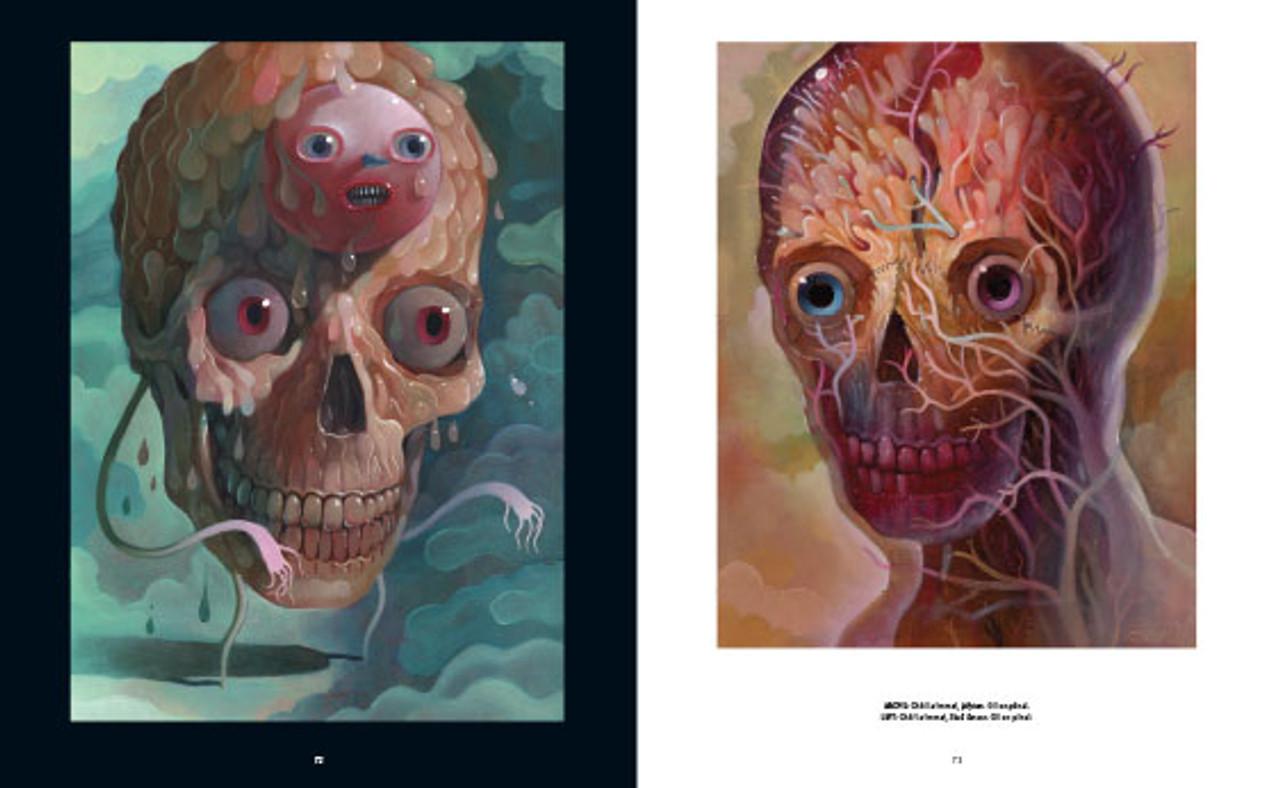 Skullface: Jellyton and Skull Person by Charlie Immer. Skull artwork.