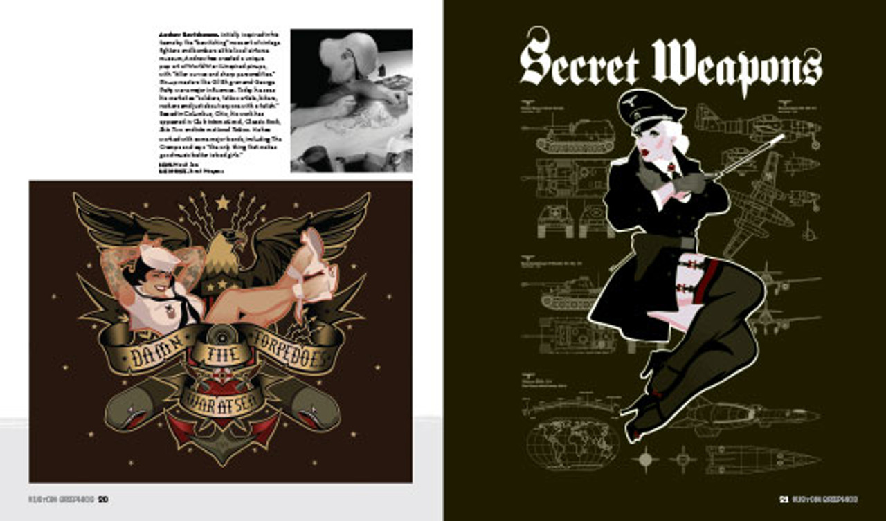 Kustom Graphics II: Alex Bawidamann. Kustom Kulture artbook.
