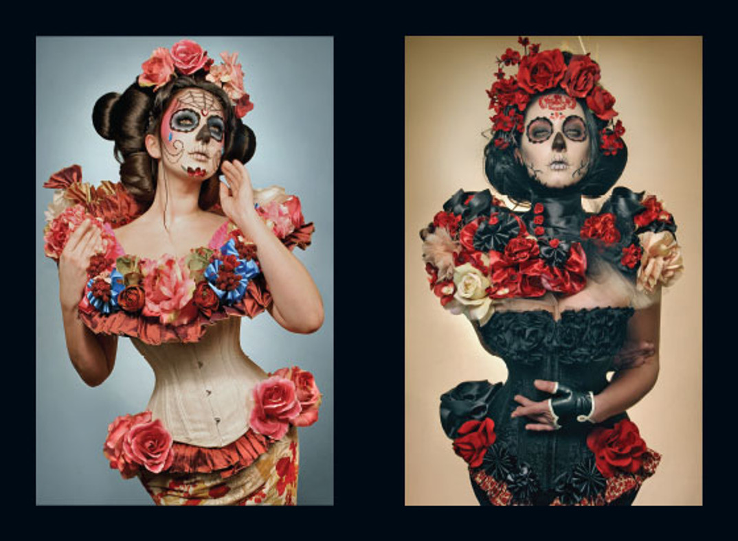 666 Photography by Gayla Partridge. Day of the Dead: El dia los muertos. Pinup book.