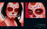 Day of The Dead and Other Works by Sylvia Ji. Alma Errante (Wandering Soul) and Yo te veo (I see you).
