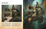 Sample spread 2 from Oil Painting Masterclass: Layers, Blending and Glazing by Patrick J. Jones.