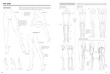 Some sample pages from the how to book Drawing the Female Figure, a guide for Manga, Hentai  and Comic book artists.