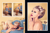 Viva Van Story's Sheer. Pinup Photography Book. Model: Mosh