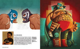 Mexican Graphics book: El Moreno.