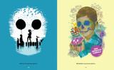 Skullface: Bye Bye Apocalypse and Gimme Gimme Gimme by Budi Satria Kwan. Skull artwork.