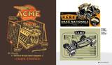 Kustom Graphics II: Jeff Tuckner of Tuck Industries. Kustom Kulture artbook.