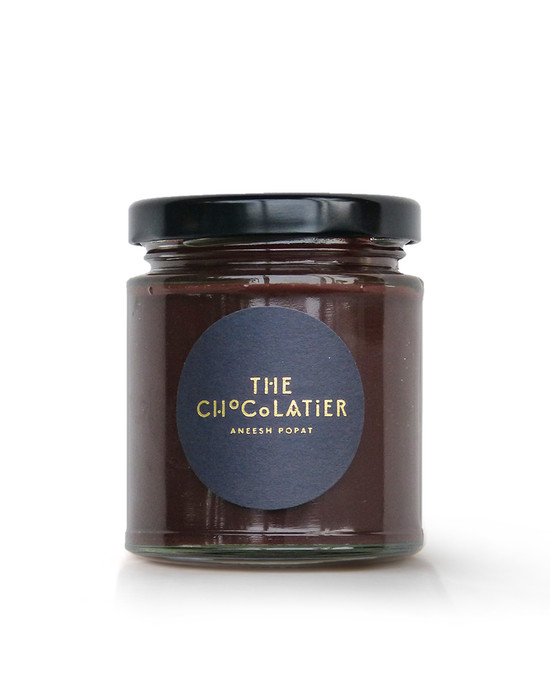 Dark Chocolate Salted Caramel Water Ganache Spread