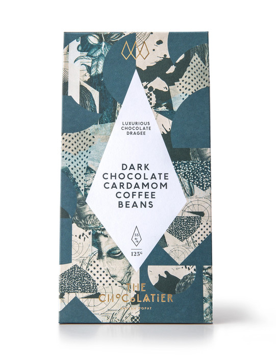 Dark Chocolate Cardamom Coffee Beans