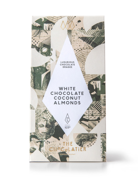 White Chocolate Coconut Almonds