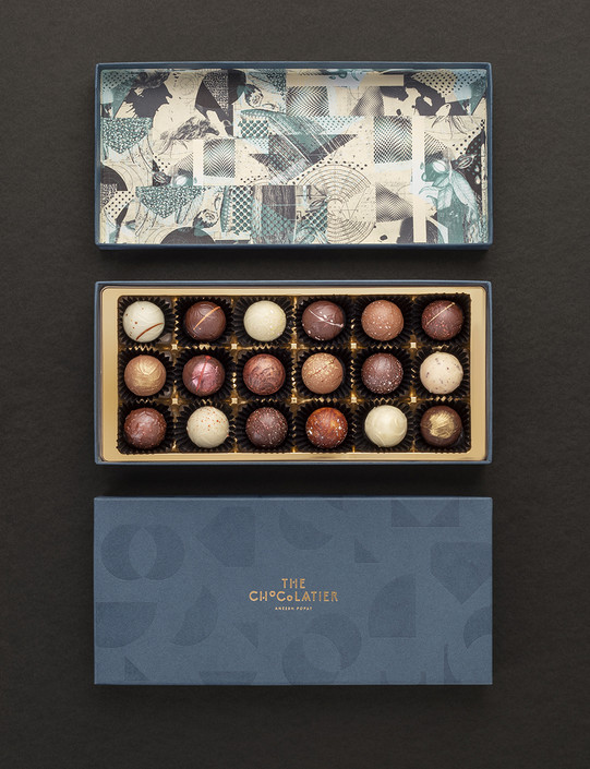 18 Water Ganache Truffles - Bespoke Collection