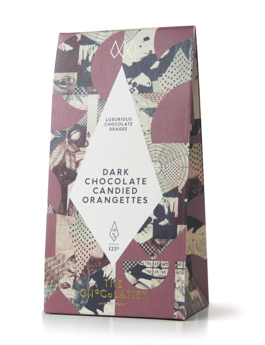 Dark Chocolate Candied Orangettes 125g