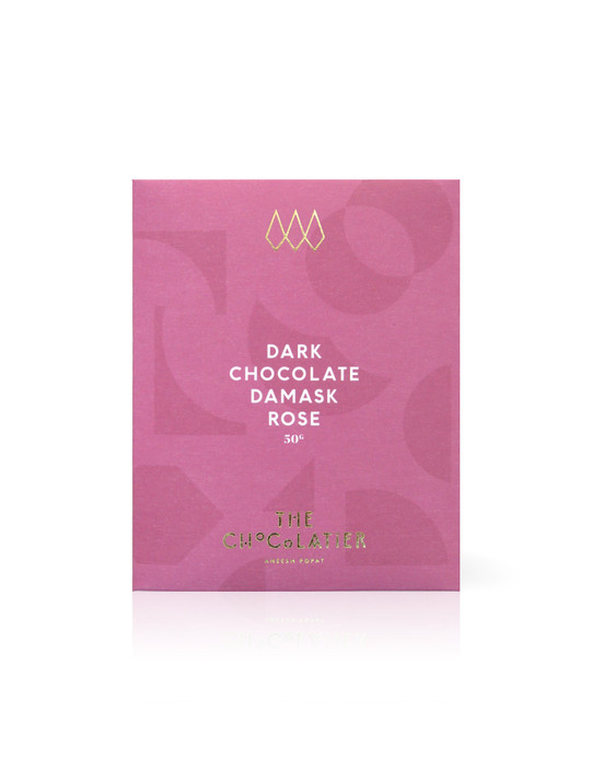 Damask Rose 70% Dark Chocolate Bar 50g